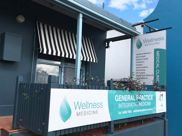 Exterior of the clinic for Wellness Medicine, Clifton Hill Doctors